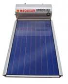 Ηλιακοί θερμοσίφωνες HELIOAKMI MEGASUN GLASS 120 λίτρα με 2,10 τμ συλλέκτη επιλεκτικής επίστρωσης τιτανίου