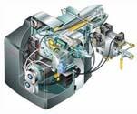 Διβάθμιος δι΄ολισθήσεως ή Αναλογικός Καυστήρας Αερίου WG10N/1-D